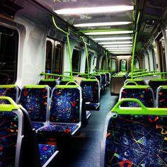 Onboard a Melbourne Train