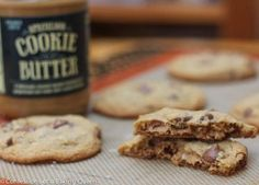 Cookie Butter Sea Salt Chocolate Chip Cookies  www.confessionsofabakingqueen.com