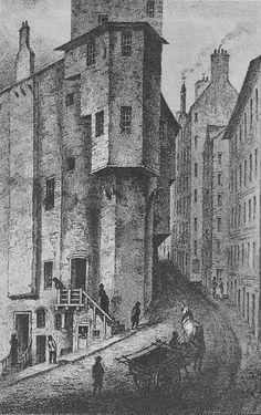 Major Thomas Weir's House