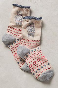 Conversation Crew Socks