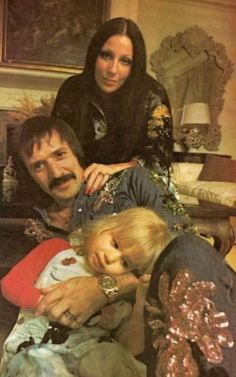 Sonny & Cher & Chastity on the 'All I Ever Need Is You' album