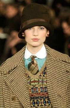Ralph Lauren ~ Tweed (detail)