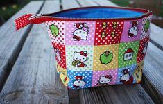 abrir amplia bolsa con cremallera: tutorial DIY - Noodlehead