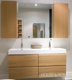 Clean Bathroom Design | House & Home