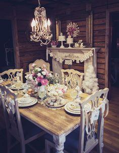 Кэнди-бар для зимней свадьбы!