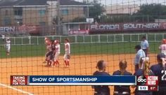 SEE IT: Softball players carry opponent around to bases after she hits home run and her knee goes out  - NY Daily News