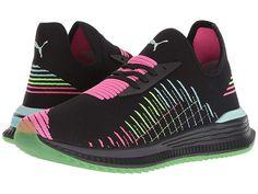 09f690c040d07b PUMA Avid Evoknit Multi Women s Shoes Puma Black Knockout Pink Island  Paradise