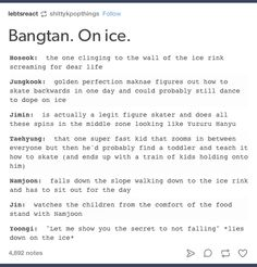 """I literally laughed out loud at """"could probably still dance to dope"""" ffs hahahah"""