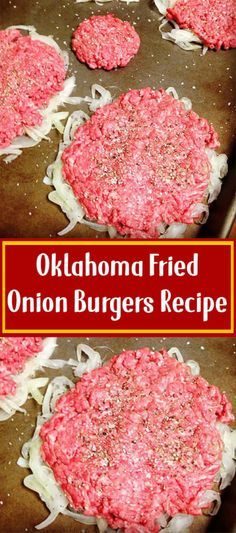 Don't use buns for keto Oklahoma Fried Onion Burgers Recipe fleisch Don't use buns for keto Fried Onion Burger Recipe, Fried Onions Recipe, Onion Recipes, Meat Recipes, Cooking Recipes, Recipies, Cooking Tips, Dinner Recipes, Hamburger Recipes