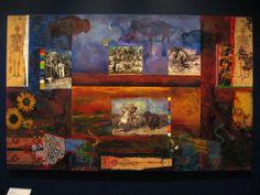 White Settlers, Royal Ontario Museum, Aboriginal People, First Nations, Sunflowers, Nativity, Buffalo, Ash, Toronto