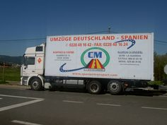 Umzuge Spanien Portugal www.spanientransport.com Tlf 0228481642 Wöchentlich Transport von und nach Spanien Portugal, Trucks, Moving Home, Bonn, Sevilla Spain, Life, Truck, Cars