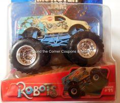 2005 Hot Wheels Robots #11 Monster Jam 1:64 Concept Truck Retired #HotWheels #11Robots
