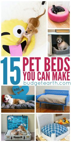Want to make your own dog house? Check out these 15 DIY Pet Beds Your can Make at Home here!