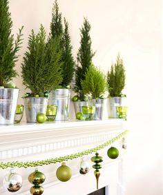 Green+Christmas+Decorations - GoodHousekeeping.com