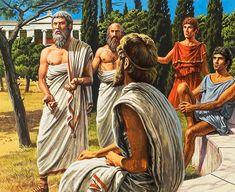 Plato (Original) art by Roger Payne