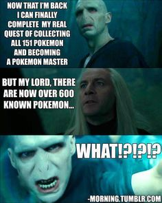 ONE DOES NOT SIMPLY BECOME A POKEMON MASTER!!! XD