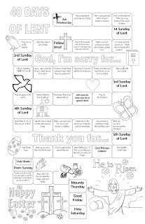 """Invite your friends and family to Easter services at Crossroads Church! Our series """"What Keeps You Up At Night"""" launches that weekend! // Never the Same Thing Twice: Lent calendar Religion Activities, Teaching Religion, Religion Catolica, Ccd Activities, Catholic Lent, Catholic Religious Education, Catholic School, Sunday School Lessons, Sunday School Crafts"""