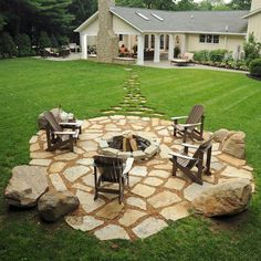 Fire Pit - traditional - Patio - Providence - Conklin Limestone