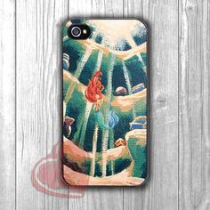 Ariel Mermaid Art - zd for iPhone 4/4S/5/5S/5C/6/6+s,Samsung S3/S4/S5/S6 Regular/S6 Edge,Samsung Note 3/4