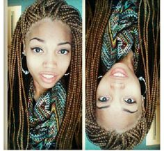 Groovy Box Braids Blonde Box Braids And Box Braids Hairstyles On Pinterest Short Hairstyles For Black Women Fulllsitofus