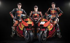 About to enter its sophomore year of MotoGP racing, the Red Bull KTM MotoGP team is ready to take on the stiffest, best-of-the-best competition the world has to offer. Motogp Teams, Ktm Motorcycles, Team S, Red Bull, Two By Two, Success, Racing, Bike, Sport