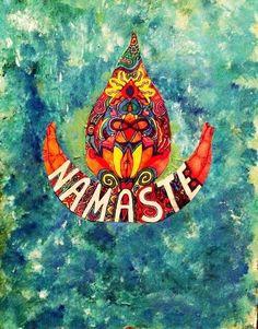 namaste  not mine on We Heart It.