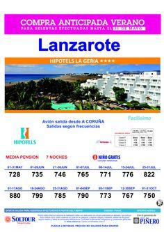15% Compra Anticipada LANZAROTE Hotel Hipotels La Geria salidas desde La Coruña ultimo minuto - http://zocotours.com/15-compra-anticipada-lanzarote-hotel-hipotels-la-geria-salidas-desde-la-coruna-ultimo-minuto/