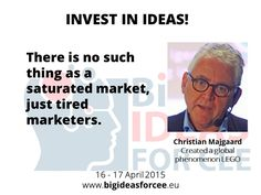 Christian Majgaard on saturated market - meet him at Big Ideas for CEE in April at http://www.bigideasforcee.sk/index.php