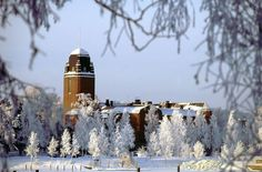 Joensuu in frost
