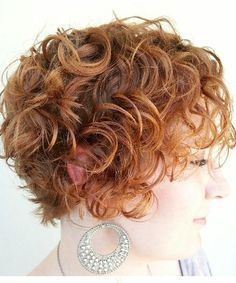 Magnificent Short Red Curly Hairstyles 2016 for Women