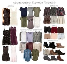 Allison's style (I love the way she dresses on the show)