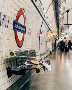 """When a man is tired of London, he is tired of life; for there is in London all that life can afford…"" — S. London Underground Train, London Underground Stations, South London, London Life, South Kensington London, Visit Britain, British Travel, London Instagram, London Photography"