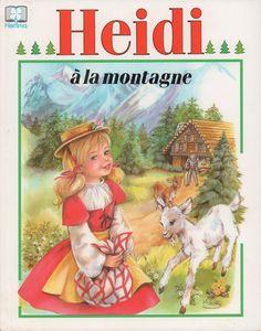 Heidi à la montagne (album ancien)