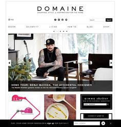 MyDomaine is a shoppable online publisher of chic lifestyle inspiration and advice Fashion Websites, Invitations, Chic, Celebrities, Inspiration, Shopping, Design, Decor, Celebs