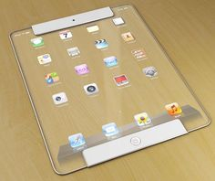 The iPad of the future. #Transparent #Apple