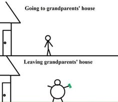 This is so true of Kathleen's house...