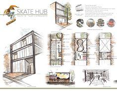 "Check out new work on my @Behance portfolio: ""SKATE HUB""…"