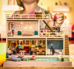The Doll house by Antti Karppinen, via Behance