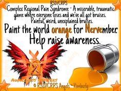 Help raise awareness for Nervember!