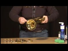 Trumpet Maintenance : How to Clean a Trumpet - YouTube