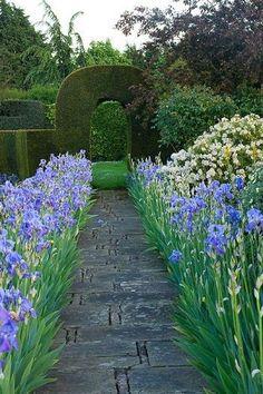 Iris walkway
