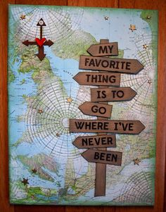 My favorite thing is to go where I've never been! Travel quotes 2019 My favorite thing is to go where I've never been! Travel Cards, Travel Album, Scrapbook Journal, Travel Scrapbook Pages, Travel Themes, Simon Says Stamp, Scrapbooking Layouts, Travel Quotes, Travel Inspiration