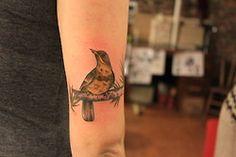 Twin Peaks bird tattoo