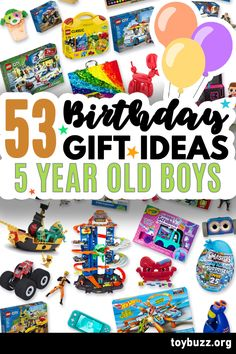 These 50+ Birthday Gifts for 5 Year Old Boys are gonna be amazing for our kids' birthday parties!! I can't believe you can see all of the coolest gifts for 5 year olds birthdays all in one place. 50 Birthday, 50th Birthday Gifts, Birthday Gifts For Women, Birthday Parties, Milestone Birthdays, 5 Year Olds, Old Boys, Our Kids, Cool Toys