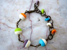 confetti bracelet  . . .