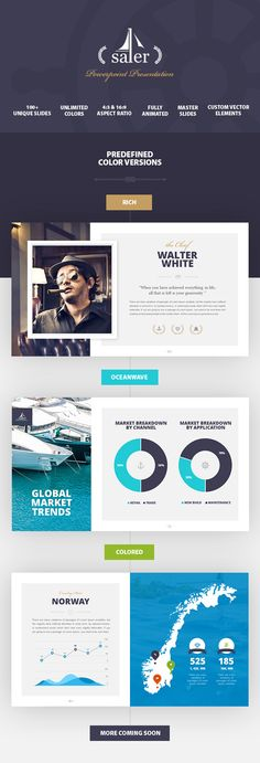 exo business powerpoint presentation template | powerpoint, Presentation templates