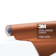 3M-1080-Satin-Canyon-Copper-Vinyl-Vehicle-Decal-Trim-Car-Wrap-Film-Sheet-Roll