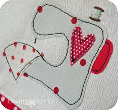 sewing machine cover | Flickr - Photo Sharing!