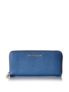 Women's Clutch Handbags - Michael Kors Jet Set Travel Zip Around Continental Wallet Steel Blue * Details can be found by clicking on the image. Blue Clutch, Amazon Associates, Handbags Michael Kors, Michael Kors Jet Set, Continental Wallet, Leather Wallet, Zip Around Wallet, Best Deals, Clutch Handbags