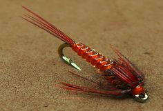 Tying a Clear Stretch Pheasant Tail Nymph by mak-flies - YouTube